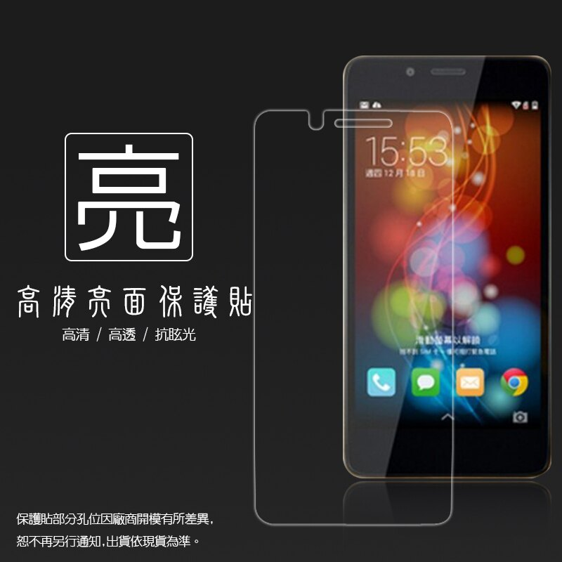 亮面螢幕保護貼 台灣大哥大 TWM Amazing X3 保護貼