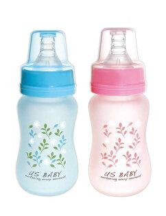 德芳保健藥妝:優生真母感特護玻璃奶瓶一般口徑120ml(藍.粉)【德芳保健藥妝】顏色隨機出貨色隨機出貨