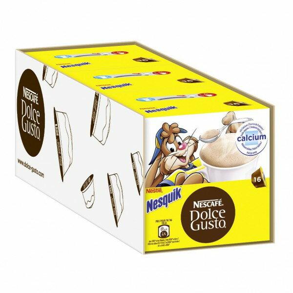 雀巢 NESCAFE Dolce Gusto 高鈣巧克力飲品 膠囊 (NESQUIK)(單條入,共48顆)
