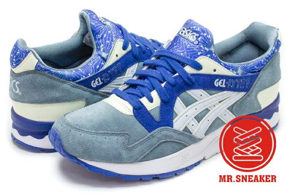 ☆Mr.Sneaker☆ASICSTigerGEL-LYTEVH5M0L1454復古跑鞋夜光灰藍色男女段