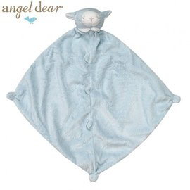 安撫巾-Baby Joy World-【美國Angel Dear 】動物嬰兒安撫巾 (藍色小羊)