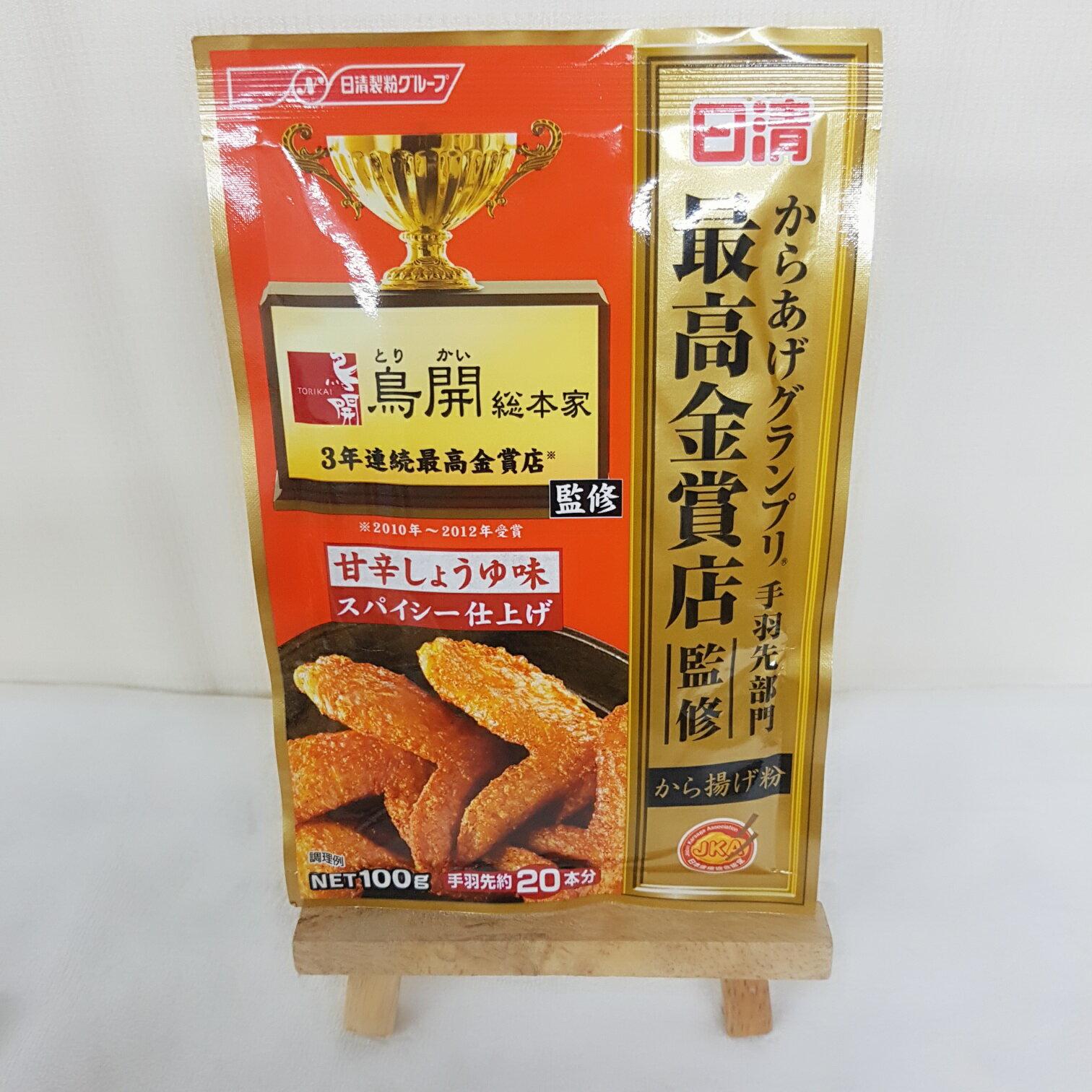 日清最高金賞獎炸雞粉-甜辣醬油風味100g包