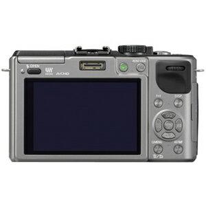 "Panasonic Lumix DMC-GX1 16 Megapixel Mirrorless Camera Body Only - Silver - 3"" Touchscreen LCD - 16:9 - 4x - Optical (IS) - 4592 x 3448 Image - 1920 x 1080 Video - HDMI - PictBridge - HD Movie Mode 2"