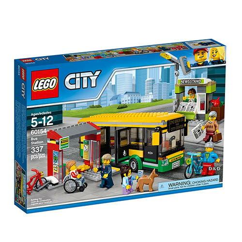 東喬精品百貨商城:樂高積木LEGO《LT60154》CITY城市系列-巴士站