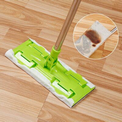 一次性靜電除塵紙 靜電拖把靜電除塵紙一次性拖把吸塵紙家用擦地板拖布地板拖地濕巾 『MY6184』