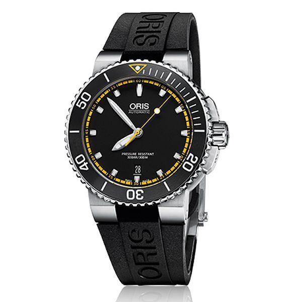 ORIS 豪利時 Oris Aquis 時間之海0173376534127-0742634EB 潛水機械腕錶/43mm
