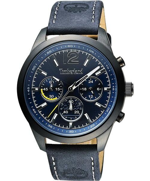 Timberland 天柏嵐 TBL.14336JSB/03 城市英雄時尚腕錶/藍面42mm