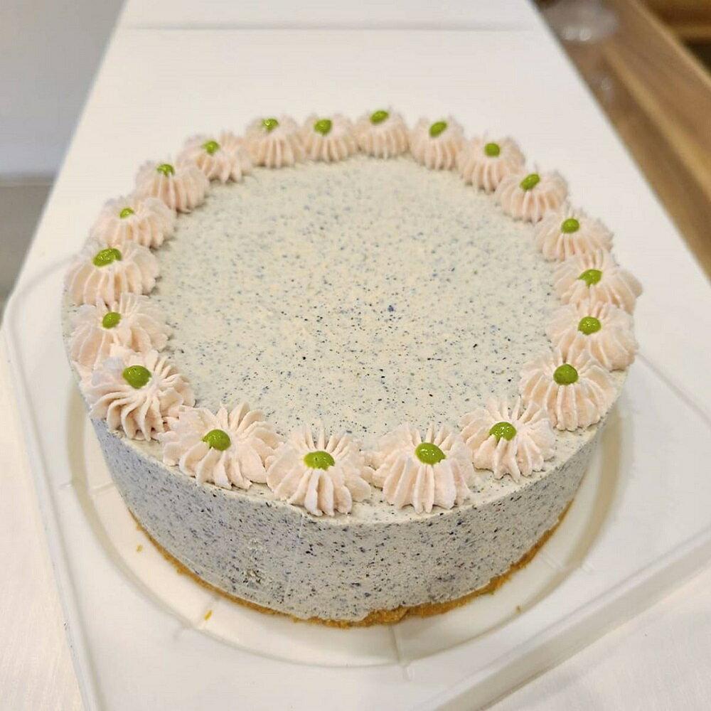 低醣黑芝麻生乳酪蛋糕 (6吋)