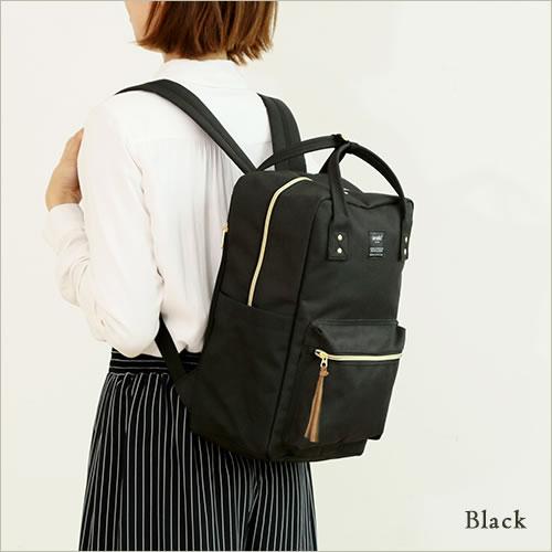 日本anello  /  獨特混色帆布後背包 / 大容量 / 多夾層 /  AT-C1221。共6色-日本必買 日本樂天代購(4212*0.7) 5