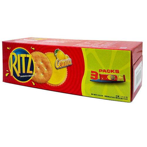 麗滋 RITZ 檸檬三明治餅乾 81g