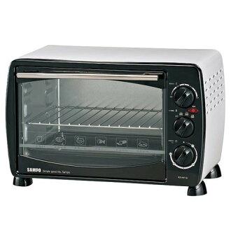 ◤A級福利品‧數量有限◢ SAMPO 聲寶 19公升 中型烤箱 KZ-HF19