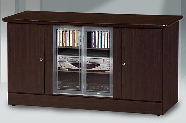 【尚品家具】628-01胡桃4尺電視櫃矮櫃儲櫃長櫃~另有白橡柚木山毛色、2尺、3尺~
