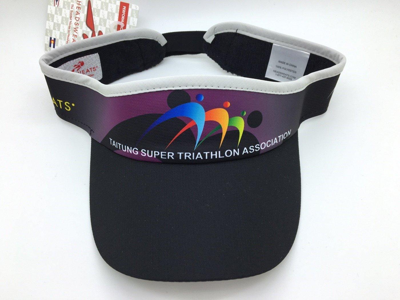 騎跑泳者-HEADSWEATS 汗淂 中空帽 2016 台東超級鐵人三項賽 113公里 半程超鐵 完賽紀念帽