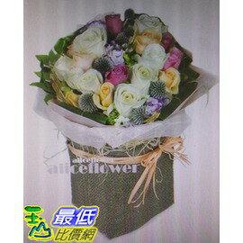[COSCO代購]W117527台北愛麗絲花坊幸福微甜玫瑰花束
