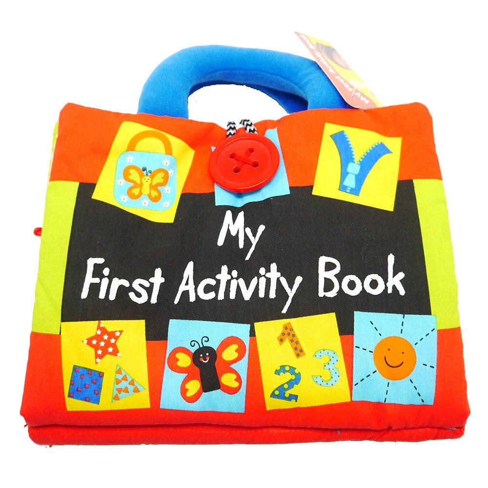 My First Activity Book 寶寶的操作學習布書