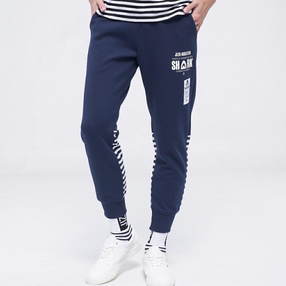 BLUE WAY   地藏小王 鯊浪針織縮口褲 1