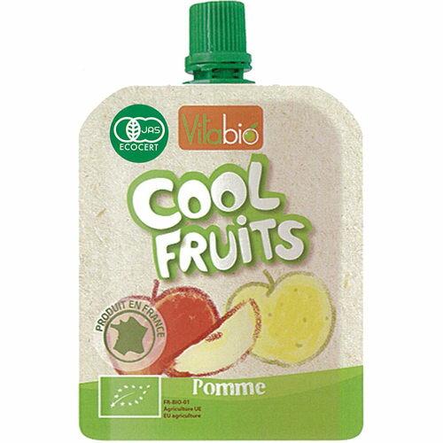 『121婦嬰用品館』法國vitabio 有機優鮮果 -  蘋果 90g 0