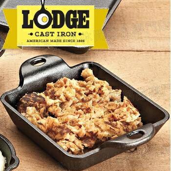 Lodge/10oz迷你方型鑄鐵烤盤/焗烤盤 Square Mini Server 美國製 HMSS/台北山水