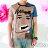 【Milida,全店七折免運】男生款-獨家設計情侶款T恤 1