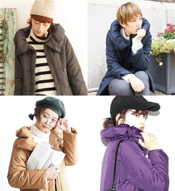 e-zakka 休閒長款羽絨大衣 / 32566-1501170。8色。(4212)日本必買 日本樂天代購 7