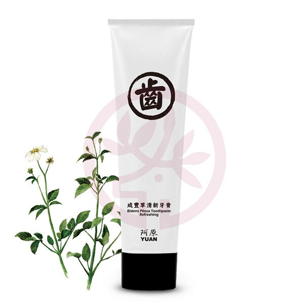 阿原肥皂 咸豐草清新牙膏(75g)x1