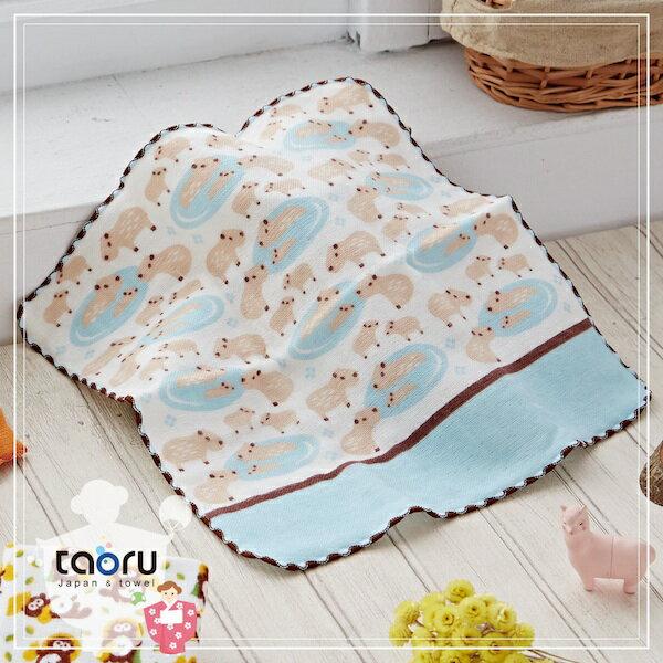 日本毛巾:町娘物語_水豚君25*25cm(手巾假日動物園--taoru日本毛巾)