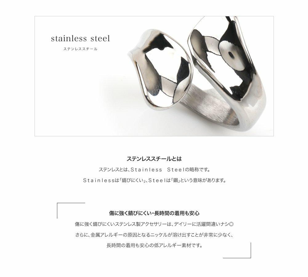日本CREAM DOT  /  リング 指輪 ステンレス製 低アレルギー レディース 大きいサイズ 9号 12号 15号 17号 ラップリング ファッションリング 大人カジュアル シンプル ゴールド シルバー ピンクゴールド  /  a03642  /  日本必買 日本樂天直送(1990) 9