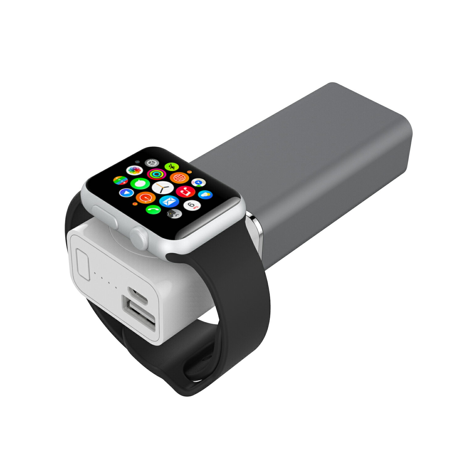 Element Works Dual USB Portable Charger And External Battery Pack for Apple Watch, iPhone, and Other Smartphones-Apple MFI Certified 6