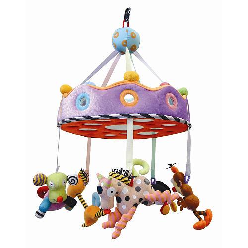 ★衛立兒生活館★加拿大 KUSHIES ZOLO 嬰兒床吊掛式感官玩具