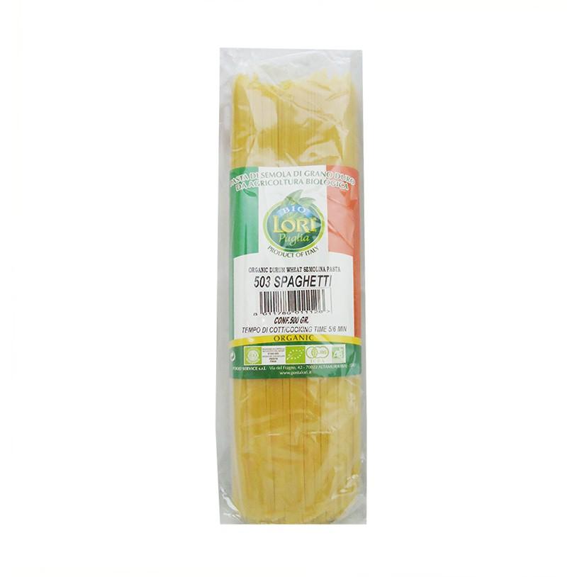 《小瓢蟲生機坊》擁潔- 有機義大利麵條500g/包 義大利麵條