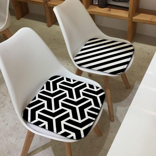 時尚簡約四季沙發墊加厚坐墊6辦公室學生椅墊餐椅墊