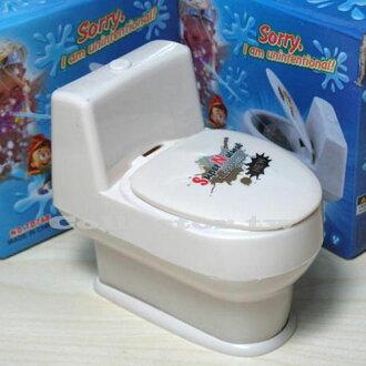 【A16011501】搞怪創意整人玩具-噴水小馬桶 噴水馬桶蓋 交換禮物/聖誕禮品