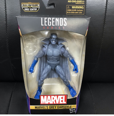 (戰神本舖 正版現貨) Marvel Legends 6吋 灰色石像鬼 Grey Gargoyle 驚奇隊長 無baf