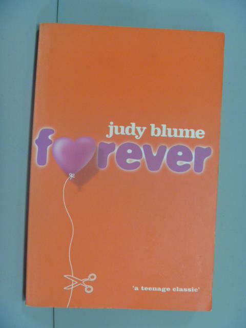 ~書寶 書T2/原文小說_NLR~FOREVER_Judy Blume