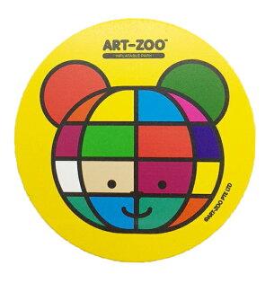ART-ZOO特展吸水杯墊-彩色熊款