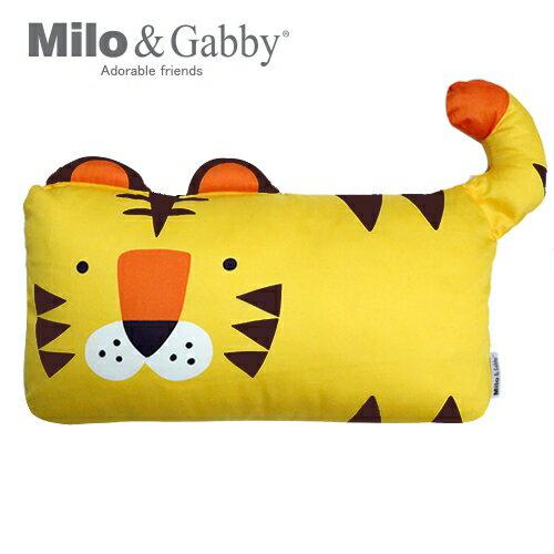 ★衛立兒生活館★Milo & Gabby 動物好朋友-mini枕頭套(TOM小虎)