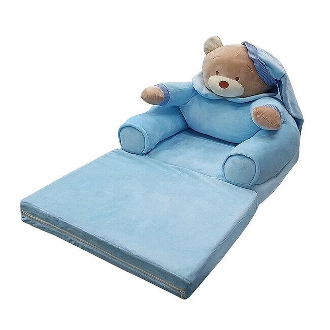 JohoE嚴選 寵物狗窩貓窩舒適熊寶貝折疊床(藍)(MS1BPC02PK1) - 限時優惠好康折扣