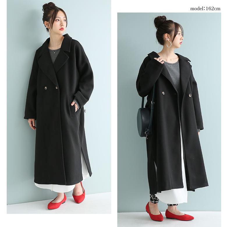 日本osharewalker  /  n'Or 秋冬簡約毛呢大衣外套  /  oen0012  /  日本必買 日本樂天代購  /  件件含運 7