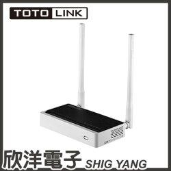 ※ 欣洋電子 ※ TOTOLINK 300Mbps極速無線寬頻分享器 (N300RT)