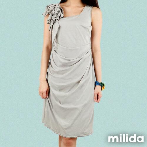 【Milida,全店七折免運】-早春商品-高雅款-氣質小禮服洋裝 3