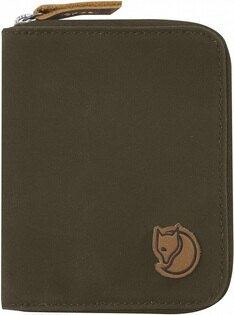 Fjallraven瑞典北極狐皮夾錢包短夾ZipWallet瑞典狐狸復古拉鍊皮夾24216633深橄欖