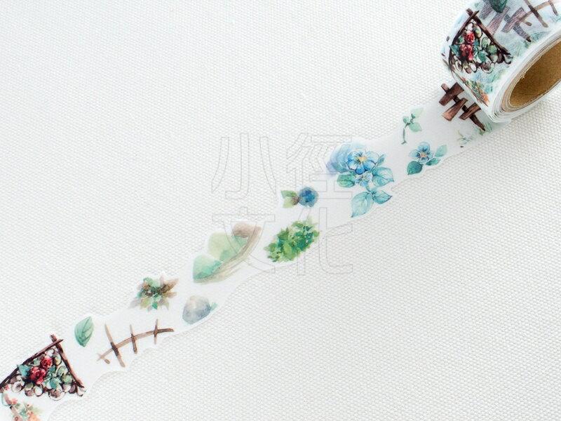 *小徑文化* | 台灣原創紙膠帶 | 黑夢蝶 - 植園 ( 404 ),RT承製,台灣限定販售