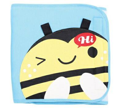 『121婦嬰用品館』拉孚兒 舒棉造型小肚圍 - 蜜蜂 0