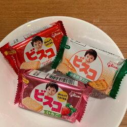 日本glico固力果1億個乳酸菌幼童夾心餅乾