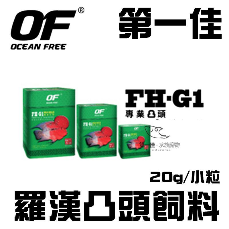[第一佳水族寵物] 新加坡OCEAN FREE 羅漢凸頭飼料 20g/小粒