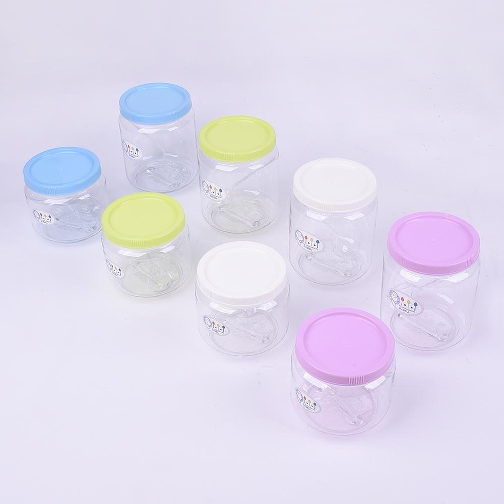 《大信百貨》佳斯捷 大/小 麻衣 密封罐 保鮮罐 儲物罐 台灣製