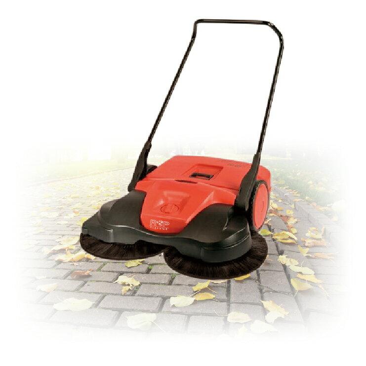 【 HG 497 無動力掃地機 - 雙刷 】不需要插電適用戶外地面