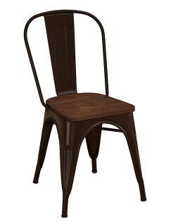 【石川家居】JF-487-8強尼咖啡色木面餐椅(單只)(不含其他商品)台北到高雄搭配車趟免運