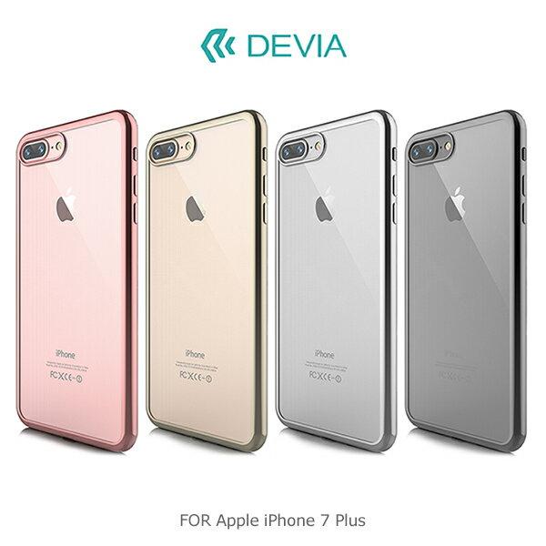 強尼拍賣~DEVIAAppleiPhone77Plus柔金保護套超薄TPU防摔電鍍保護殼