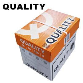 Quality A4影印紙 70磅 (5包) /箱 (橘色包裝,紙張偏白)